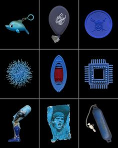 Flotsam and Jetsam Peter Tonningsen collects odd things that wash up on California beaches near his home. He then scans them on a flat-bed s...