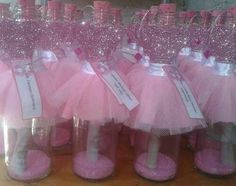 Discover thousands of images about Bridal Party Wine glasses-£H Ballerina Birthday Parties, Girl Birthday, Bridal Shower Centerpieces, Glitter Wine, Quinceanera Party, Princess Party, Baby Shower Parties, Diy Wedding, Crafts For Kids