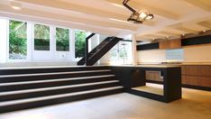 Sherylleysner   Interior Architecture & Project Management   Private house   Amsterdam   Kitchen  Marble Stone   Steel glass stairs   Vide  