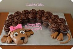 Sausage dog cake so cute!