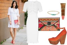 Spice Up the White! Espionage's Taylor King Shares 3 Perfect Summer Outfits #Refinery29