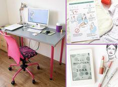 10 sposobów na oszczędzanie czasu podczas pracy [INFOGRAFIKA] - Gosia Zimniak Office Desk, Home Decor, Desk Office, Decoration Home, Desk, Room Decor, Home Interior Design, Home Decoration, Interior Design