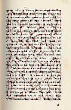 Book Page Labyrinth....made by dotting the a's and connecting!