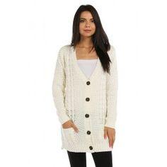 http://www.salediem.com/shop-by-size/small/trim-long-line-cardigan.html #salediem #fallsweater