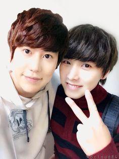 Kyuhyun and Sungmin #Kyumin