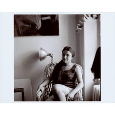 Photograph of Eva Hesse  n.d.  Artist/Maker: Eva Hesse Archive  Gelatin silver print from a 120 black and white negative of Eva Hesse  Overall: 2 3/8 x 2 3/8 in. (60 x 60 mm)