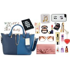 View this collection on Polyvore What's in it? Style your bag.. by silvanacasalins81 on polyvore.com   One of the things that can define a woman with astonishing precison is the amount of stuff we ...