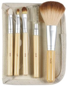Buy Danielle Naturally Bamboo Collection 5 Piece Brush Set with Case from Canada at Well.ca - Free Shipping