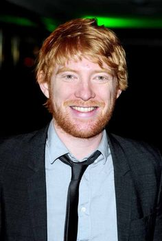 Domhnall Gleeson (Bill Weasley, which I KNOW you know, but for the new fans) Now