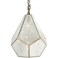 """The Diamond Pendant is from Aidan Gray, a line that represents a love for interiors, design and authentic products that exude """"European Grandeur."""" The founding partners' desire for products made by hand and with authentic materials such as solid wood, rustic metals, antique mirror, old painted finishes and silk appointments drives product development. Aidan Gray has become known for exceptional quality and detail oriented products."""
