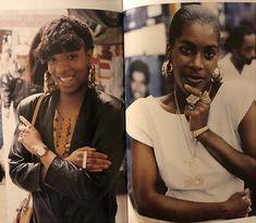 """Black women photographed by Jamel Shabazz Soft Ghetto, Ghetto Fabulous, Black Girl Magic, Black Girls, Black Women, Jamel Shabazz, Afro, Vintage Black Glamour, Vintage Style"