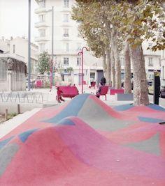 AWP, St Etienne, Jacquard Square, 2012 Photo: Anna Positano