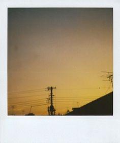 Skyscape Polaroid 15, pezzo unico, 10,8x8,9 cm, su richiesta in archivio NA