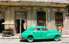 An iconic car on the streets of Havana, Cuba