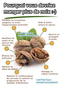 8 bienfaits des noix sur la santé que vous devriez connaître