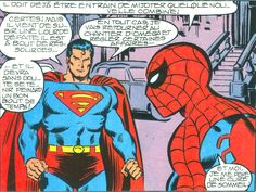 Jean-Michel Gnidzaz, Superman et Spiderman
