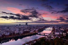 Lyon Pink Sky