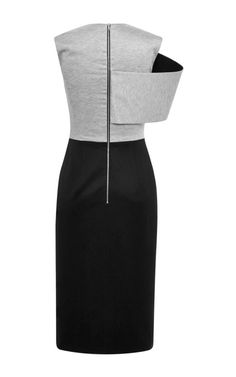 Tailored Jersey Fold Pencil Dress by Josh Goot for Preorder on Moda Operandi