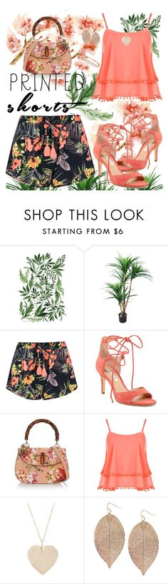 """""""Untitled #59"""" by lucia-altomani ❤ liked on Polyvore featuring TradeMark, Diane Von Furstenberg, Gucci, WearAll, Forever 21, Humble Chic and Swarovski"""