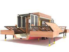 folding house design