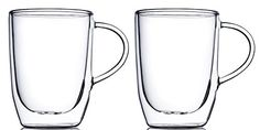 Home Fashions 10 Ounce Double Wall Insulated Glasses Set of 2 *** Click image to review more details.Note:It is affiliate link to Amazon.