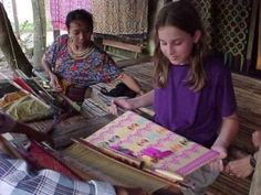 Weaved cloth is one of traditional arts of Lombok island which has special and distinct beauty. You can find that when you're in Sukarara village Bali Lombok, Asia Travel, Traditional Art, Southeast Asia, Tourism, Weaving, Island, Places, Turismo