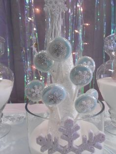 Disney Frozen--Winter wonderland Birthday Party Ideas | Photo 1 of 12 | Catch My Party
