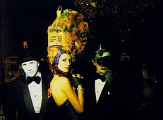 Surrealistic bal at chateau de Ferrieres - Rothschild family