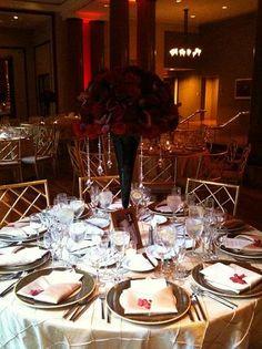 The 94 best Burgundy black gold beige ivory wedding images on ...