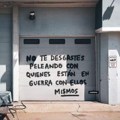 Pretty Words, Cool Words, Mood Quotes, Life Quotes, Street Quotes, More Than Words, Spanish Quotes, Note To Self, Sentences