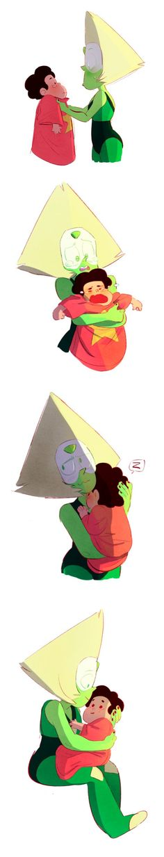 Peridot and Steven Bird mom, fun mom, Square mom and Dorito mom