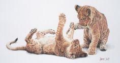 Wildlife art by Lindsay Scott