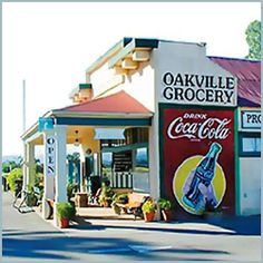 The best little grocery store in Napa Valley:  Oakville Grocery Co.