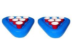this could be really fun, or really difficult. pool beer pong.