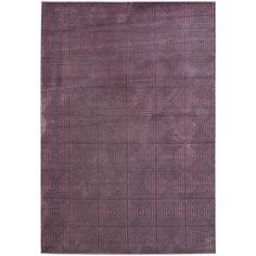 Safavieh Paradise Purple Viscose Rug (5' 3 x 7' 6) - Overstock™ Shopping - Great Deals on Safavieh 5x8 - 6x9 Rugs