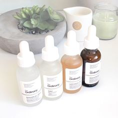 In-depth scientific review of Niacinamide 10% + Zinc 1% and Buffet peptide treatment serums from budget-friendly skincare brand The Ordinary by Deciem.