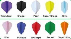 PEAR shape-Black-3 sets-FREE UK POST HARROWS Marathon GOLD Flights-strong