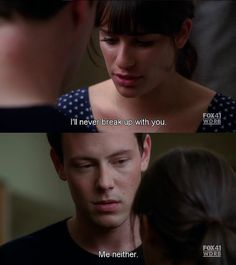 "Finchel in glee ""audition"""