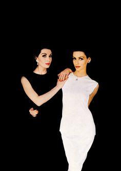 Black & White. by Norman Parkinson