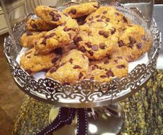 Dairy, gluten, grain, nut, refined sugar, & soy free chocolate chip cookies! They're soft, chewy and amazing fresh out of the oven.