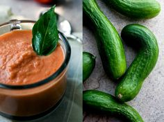Tomato-Cucumber Soup With Basil Recipe - NYT Cooking