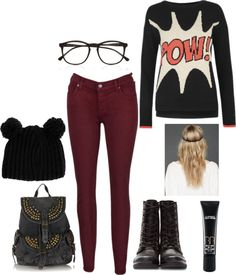 """school outfit"" by marya-gtk ❤ liked on Polyvore"