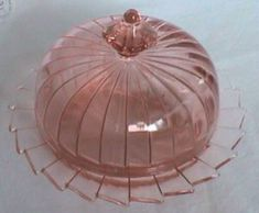 Pattern:   Sierra Depression Glass - Also called Pinwheel  Manufacturer:   Jeannette Glass Company