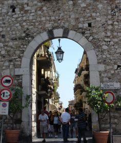 Taormina, Porta Catania, Sicily