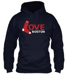 Limited Edition 'We Love Boston' Tees - After everything we Bostonians have gone through this year.... GO SOX!