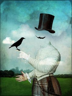 'The magician' by Catrin Welz-Stein on artflakes.com as poster or art print $34.65