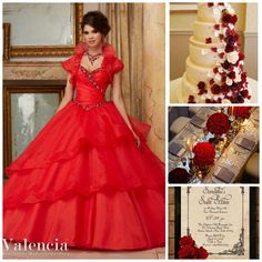 Red Quinceanera Theme | Quinceanera Ideas |