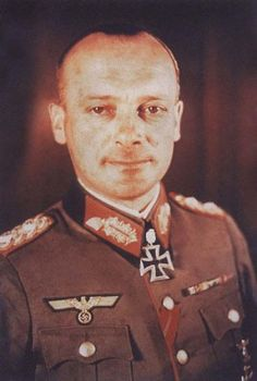 """General der Infanterie Karl Friedrich """"Fritz"""" Wilhelm Schulz (15 October 1897 – 30 November 1976) Knight's Cross on 29 March 1942 as Oberst im Generalstab and chief of the general staff of the XXXXIII. Armee-Korps; 428th Oak Leaves on 20 March 1944 as Generalleutnant and acting commander of the III. Panzer-Korps; 135th Swords on 26 February 1945 as General der Infanterie and commander in chief of the 17. Armee"""