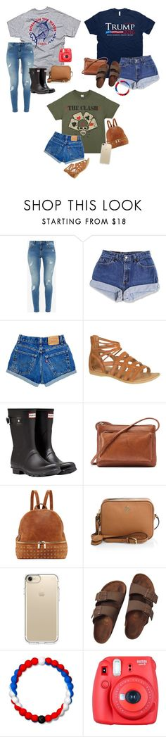 """""""Just ordered these shirts so excited!!"""" by southern-belle02 ❤ liked on Polyvore featuring Ted Baker, Hunter, ILI, Neiman Marcus, Tory Burch, Speck, Birkenstock, Lokai and Fuji"""
