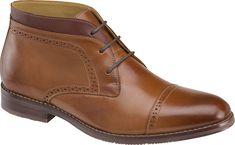 Johnston & Murphy Cap-Toe Ankle Boots